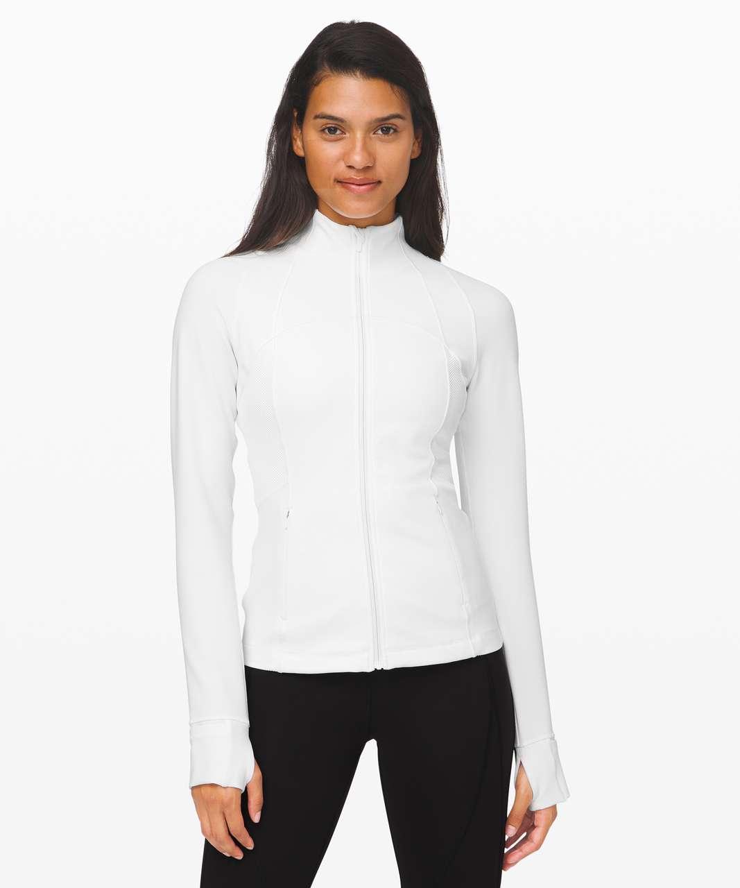 Lululemon Define Jacket *Ribbed - White