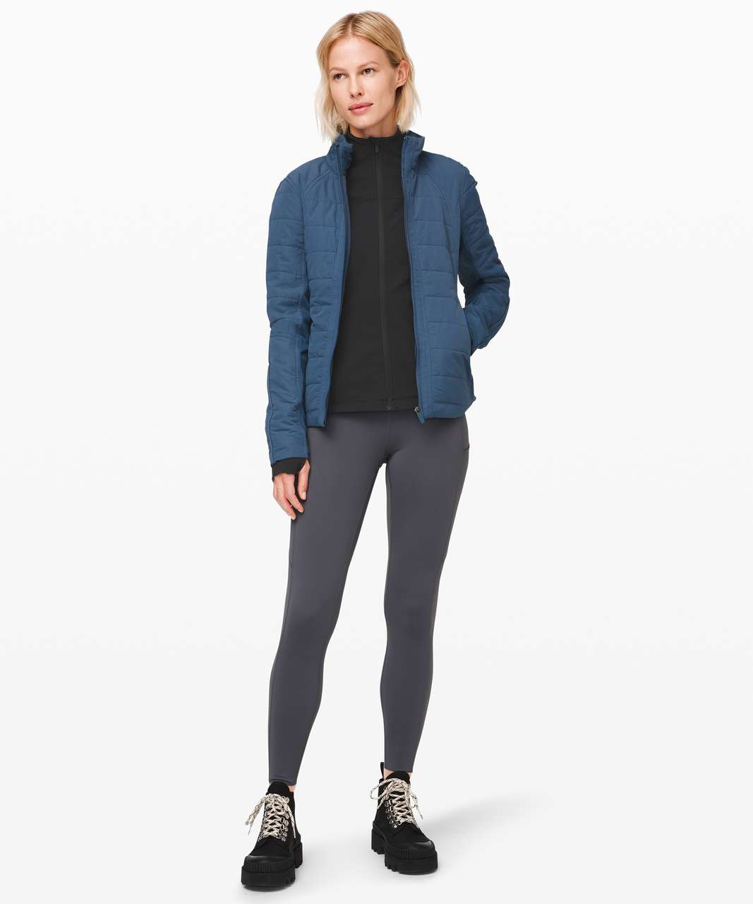 Lululemon Define Jacket *Ribbed - Black