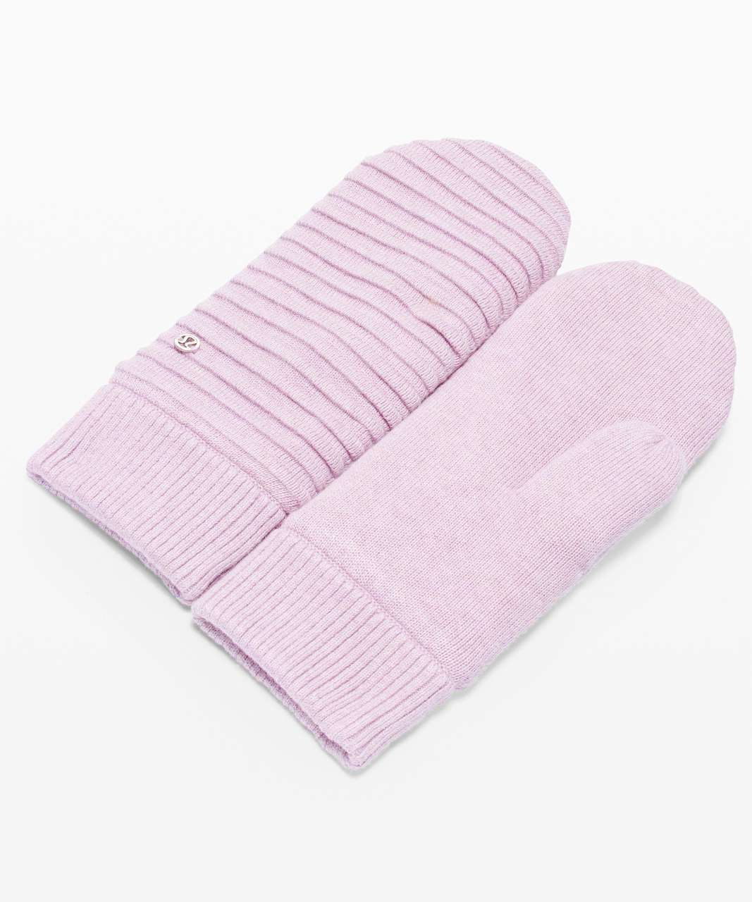 Lululemon Sweet and Sherpa Mittens - Heathered Pink Taupe