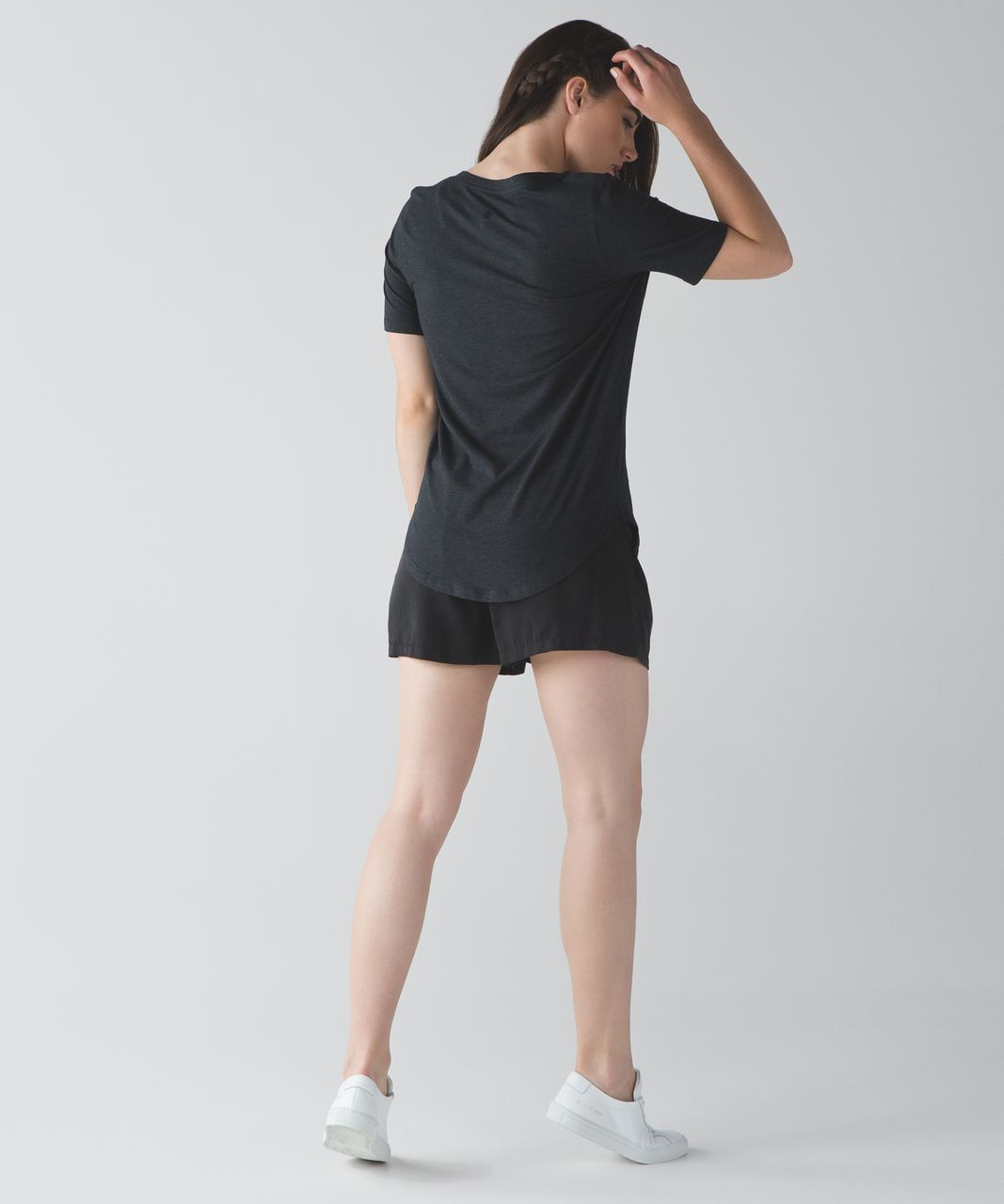 Lululemon Love Tee III - Heathered Black
