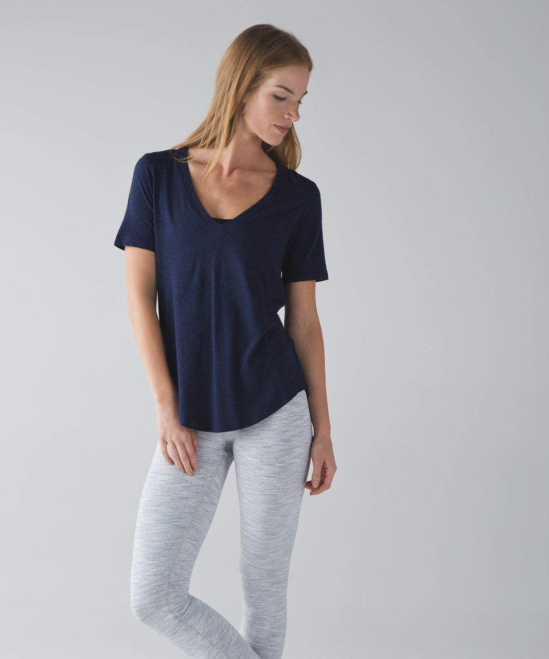 Lululemon Love Tee III - Heathered Hero Blue