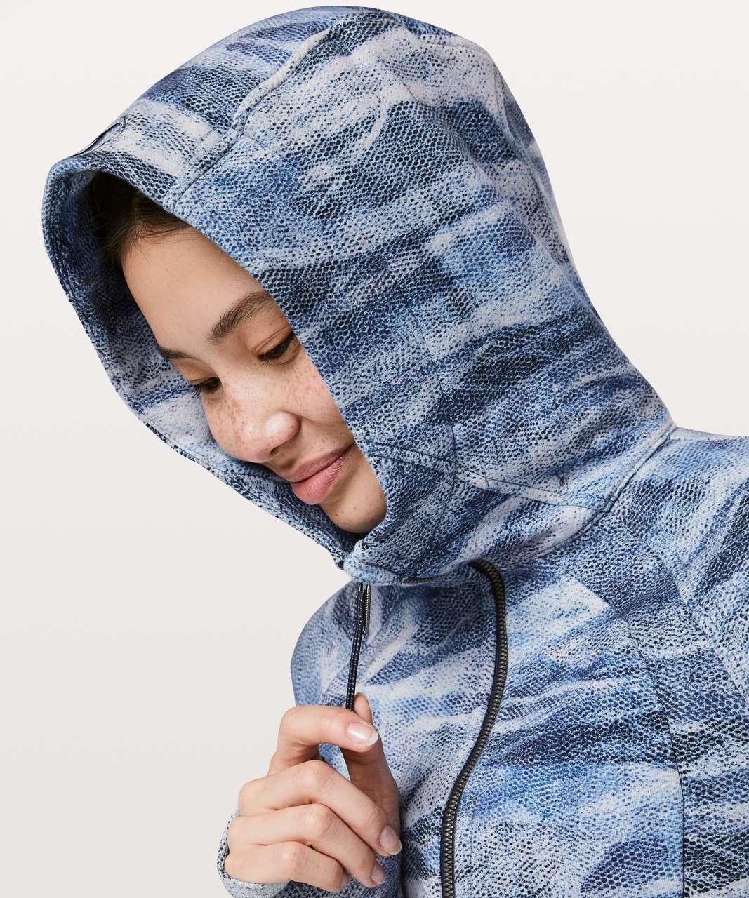 Lululemon Scuba Hoodie *Light Cotton Fleece - Mesh Scape Multi