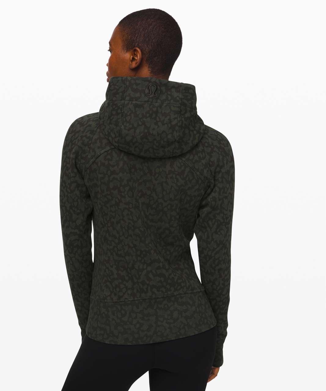 Lululemon Scuba Hoodie *Light Cotton Fleece - Formation Camo Evergreen Multi