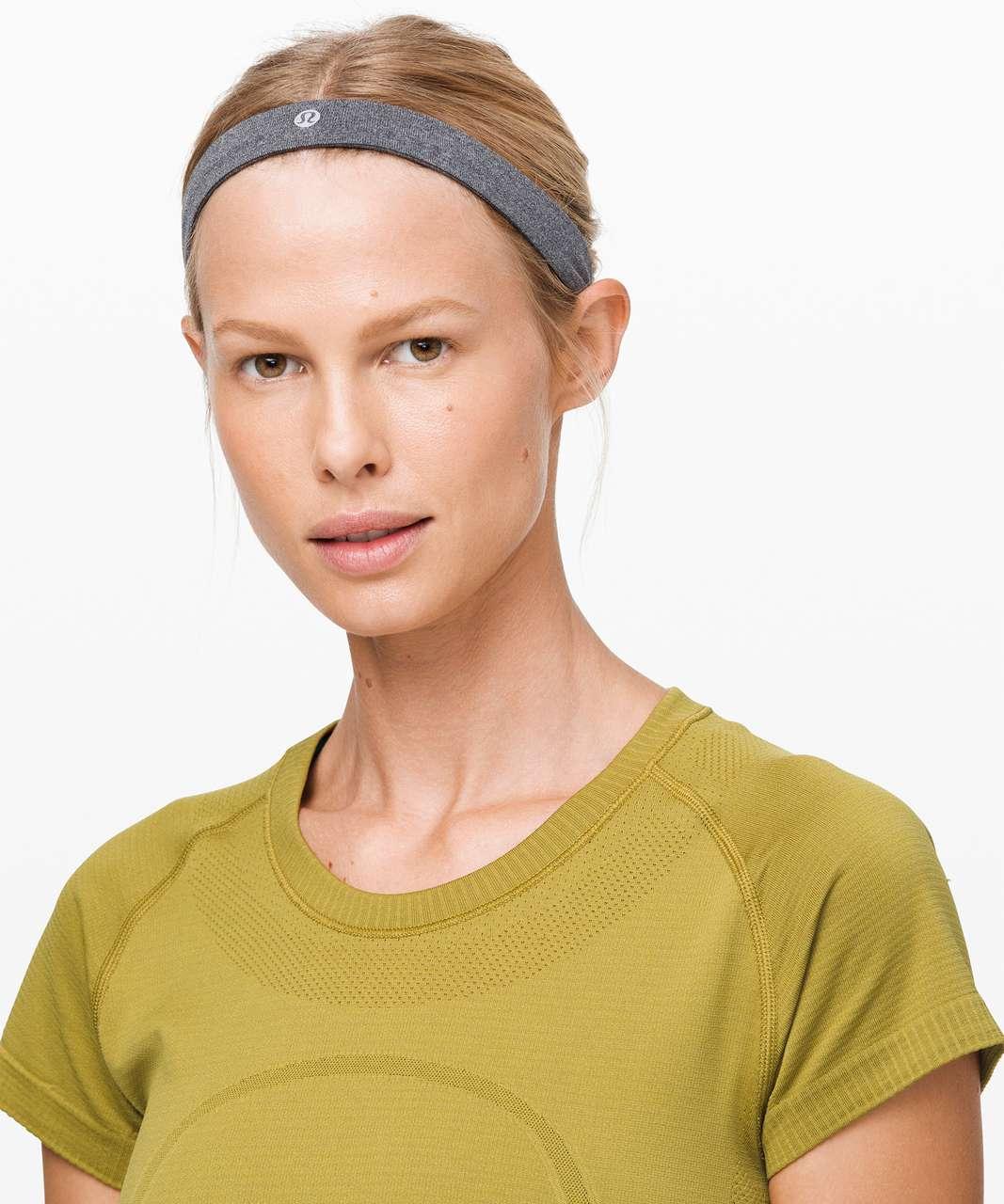 Lululemon Cardio Cross Trainer Headband - Black / White