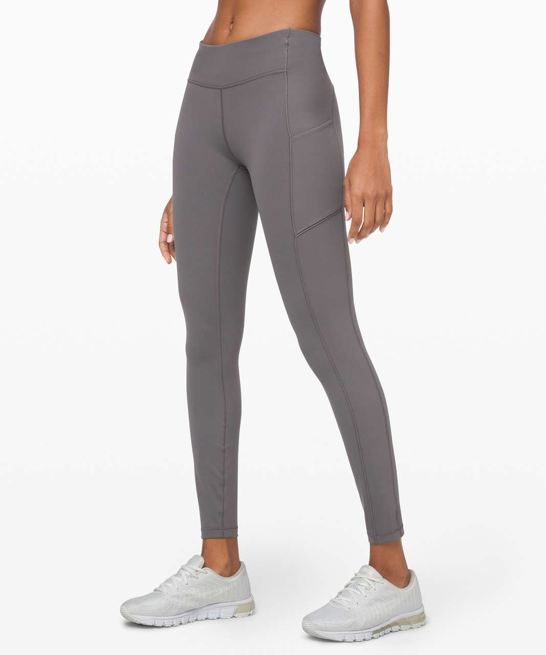 "Lululemon Speed Up Tight 28"" *Full-On Luxtreme - Titanium"