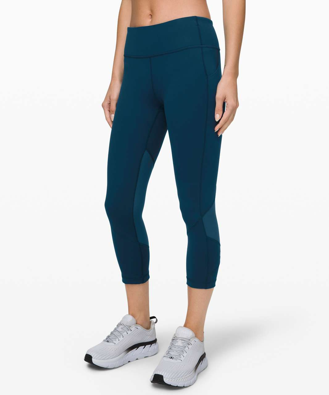 "Lululemon Pace Rival Crop *22"" - Night Diver"
