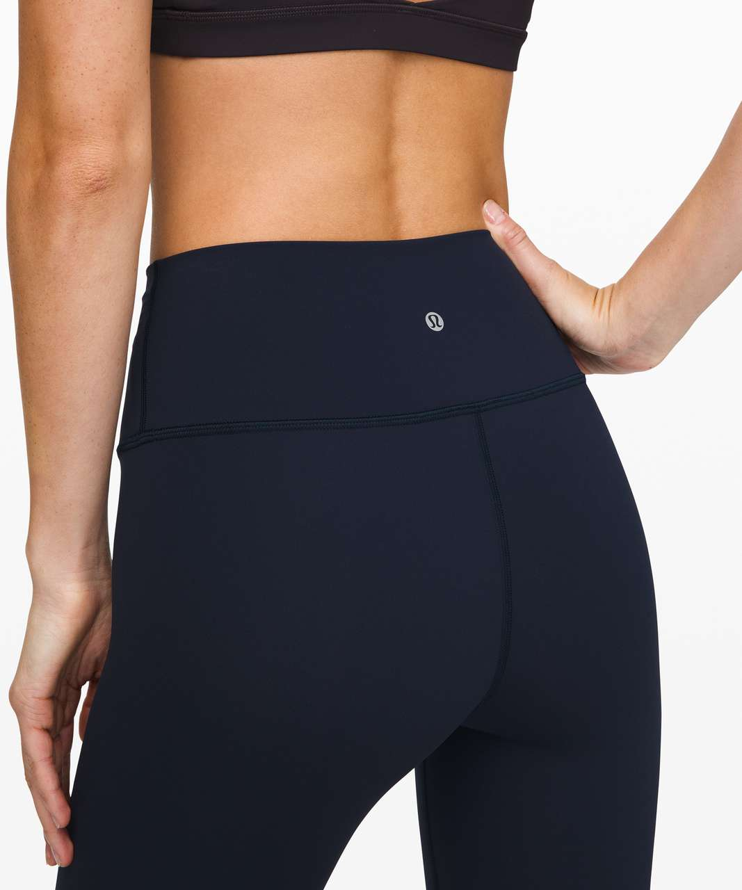 "Lululemon Wunder Under High-Rise Tight 28"" *Brushed Full-On Luxtreme - True Navy"