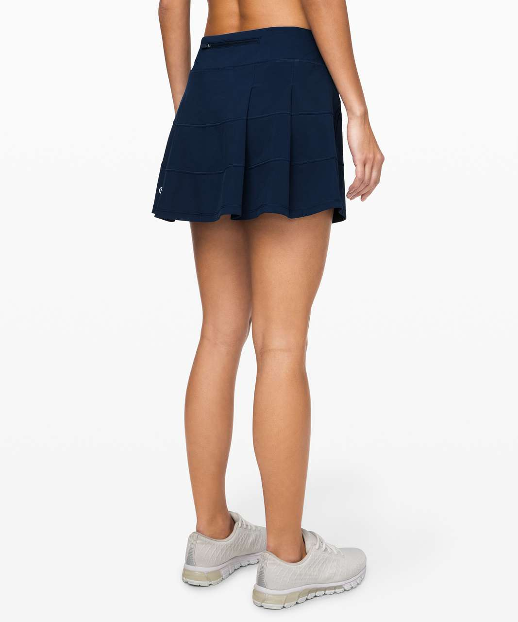 """Lululemon Pace Rival Skirt (Tall) *4-way Stretch 15"""" - True Navy (First Release)"""
