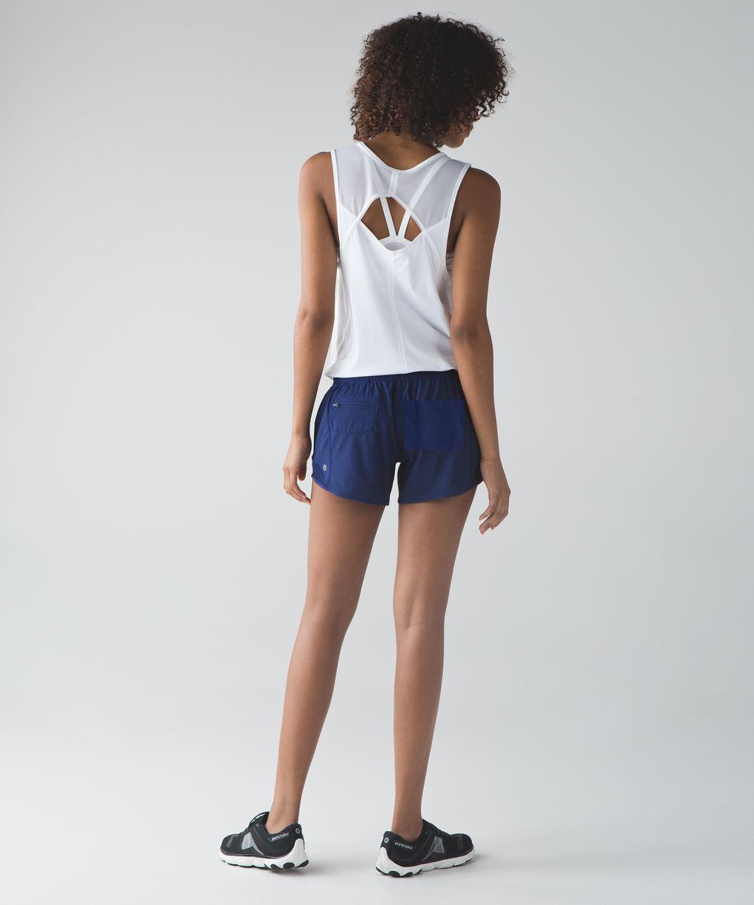 Lululemon Hotty Hot Short (Long) - Hero Blue