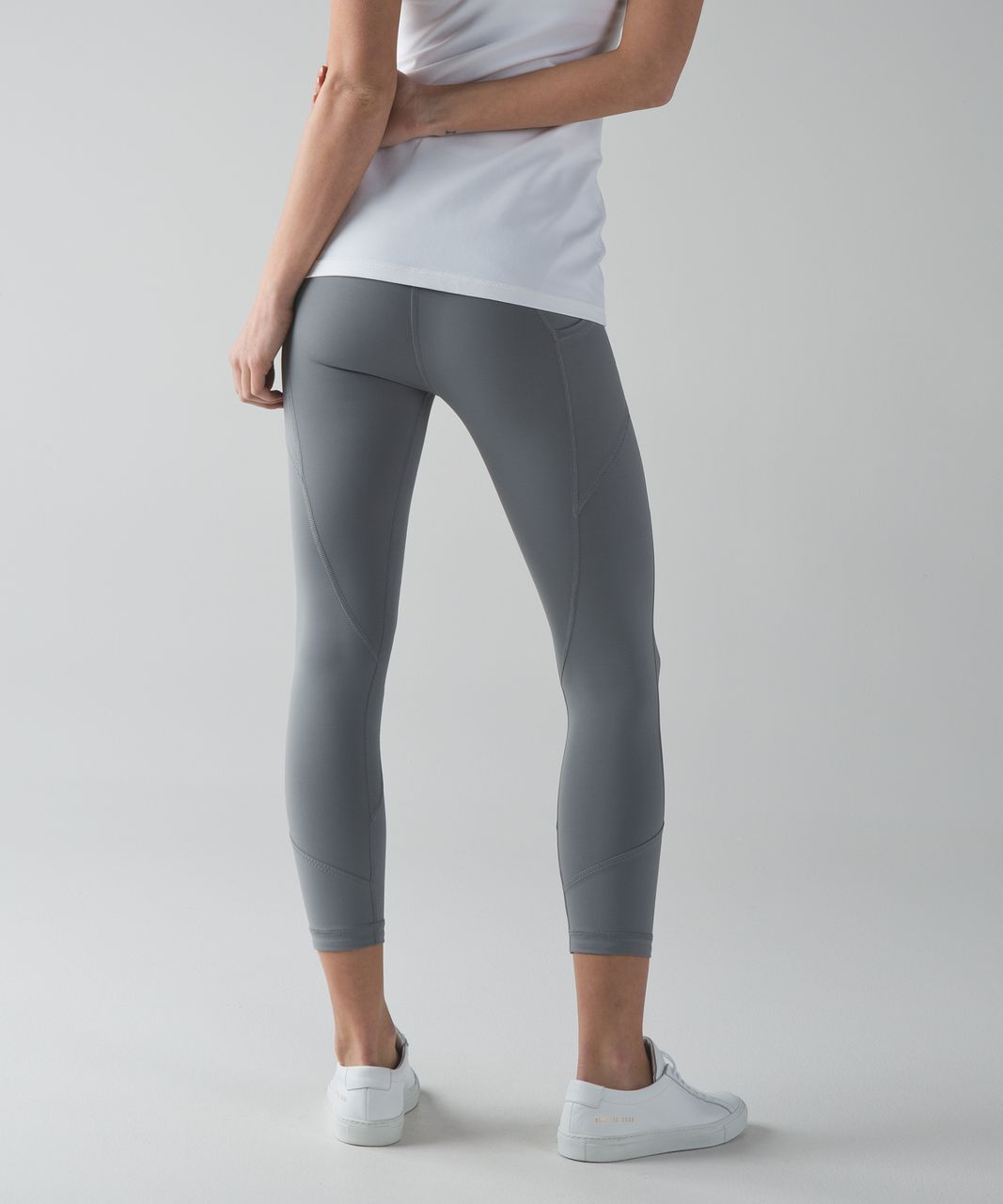 Lululemon All The Right Places Crop II - Battleship