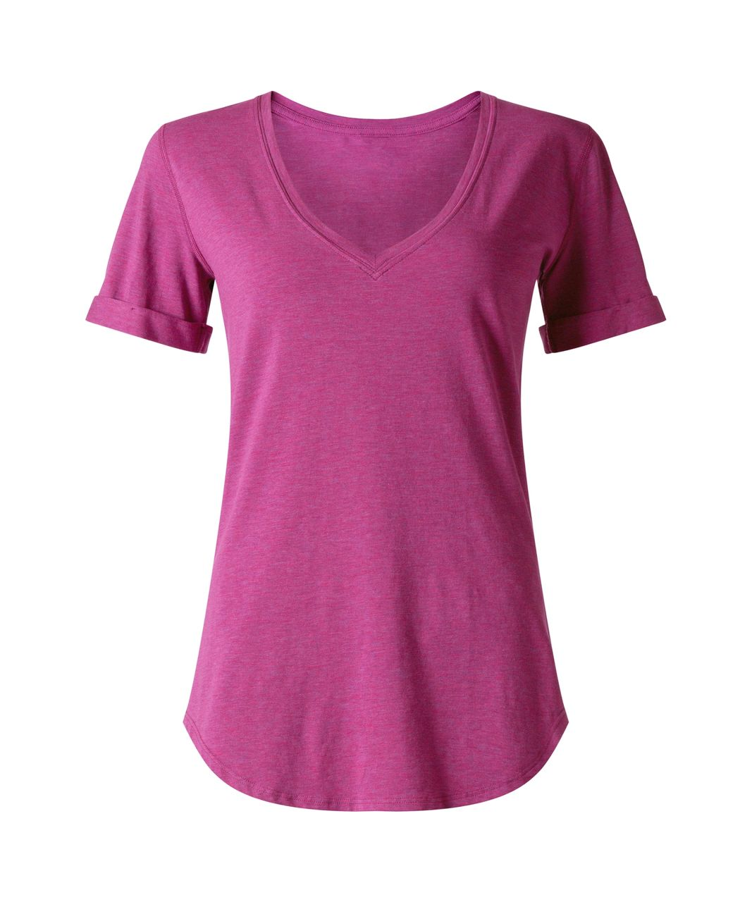 Lululemon Love Tee II - Heathered Regal Plum