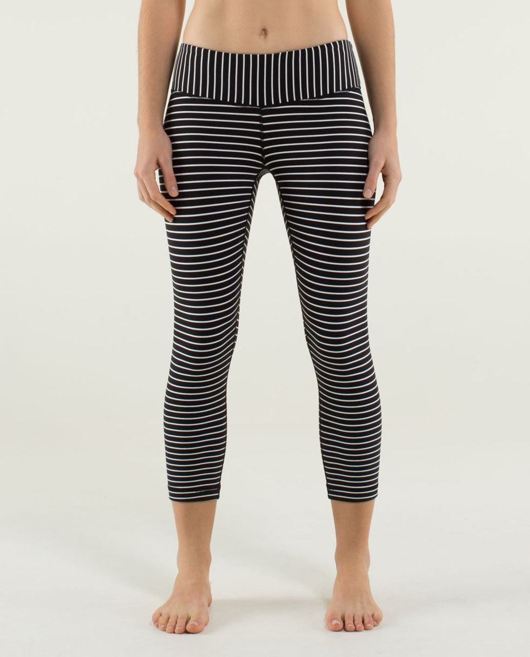 Lululemon Wunder Under Crop - Parallel Stripe