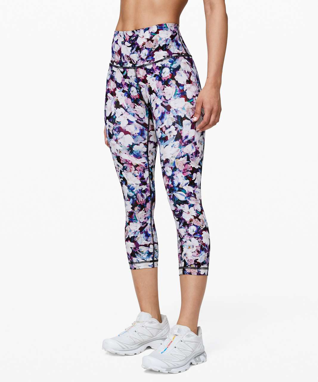 "Lululemon Wunder Under Crop (High-Rise) *Full-On Luxtreme 21"" - Utopia Multi"