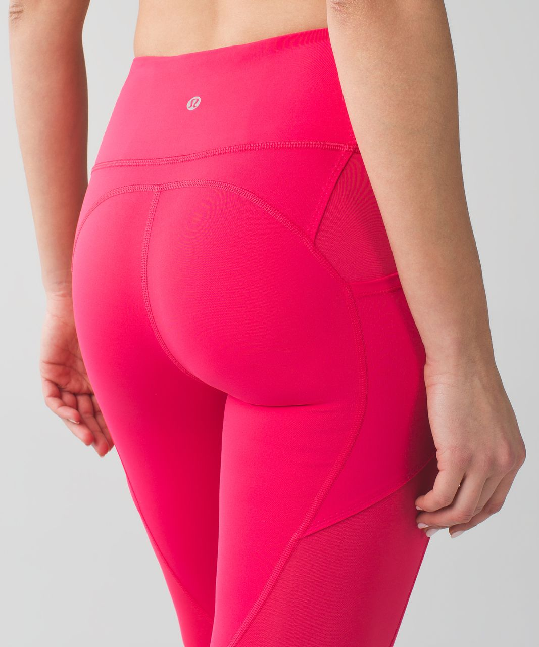 Lululemon All The Right Places Crop II - Boom Juice