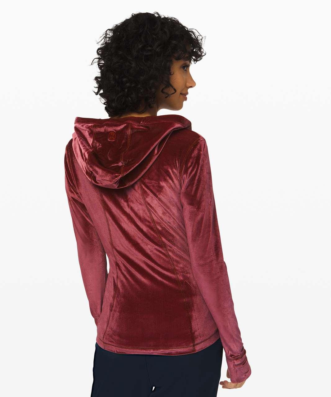 Lululemon Define Hooded Jacket *Velvet - Garnet