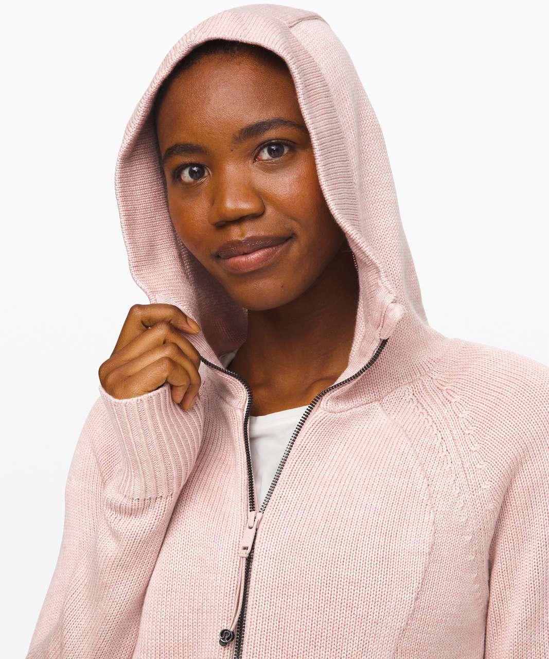 Lululemon Scuba Hoodie *Cashlu - Heathered Pink Bliss