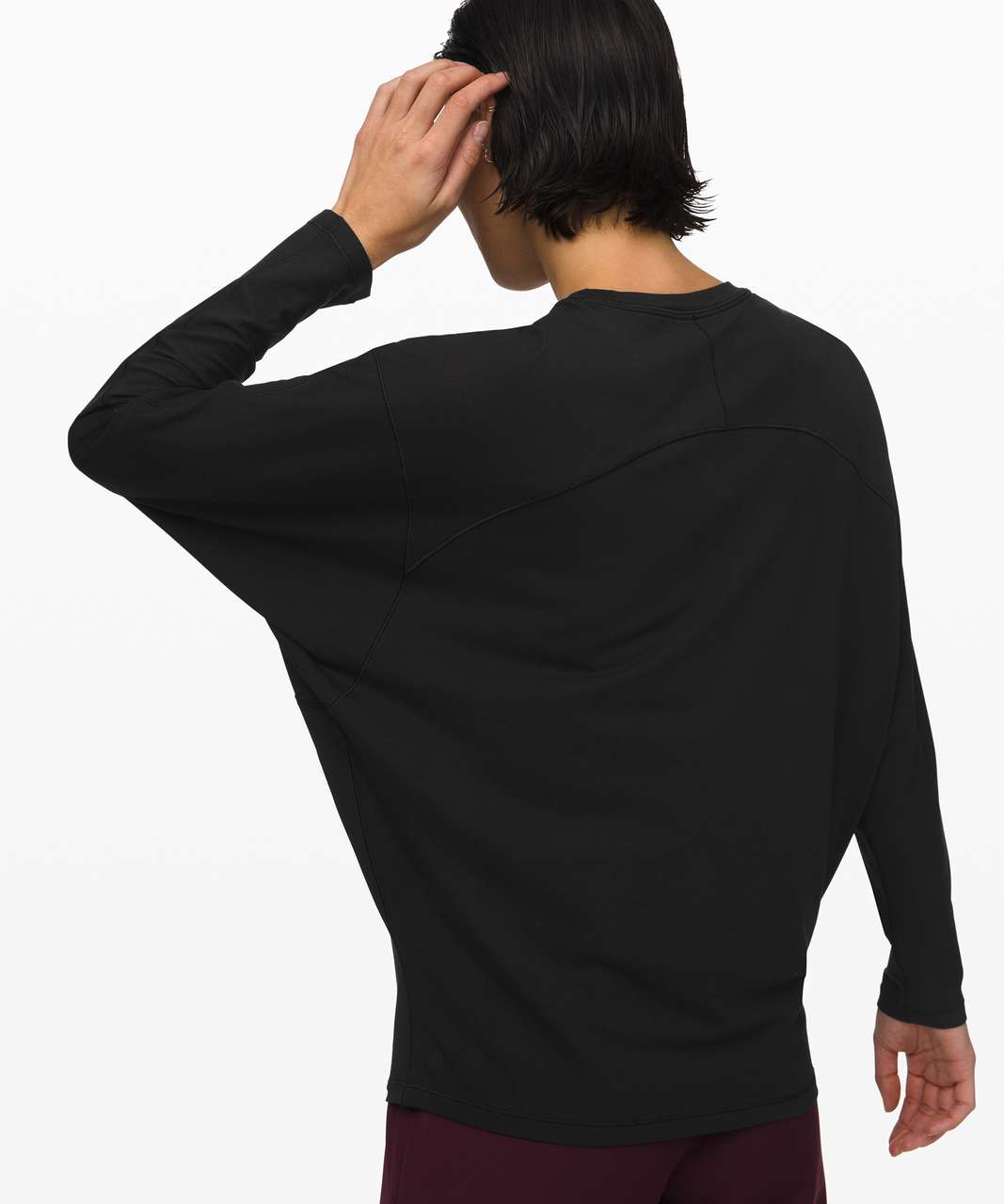 Lululemon Loungeful Drape Long Sleeve - Black