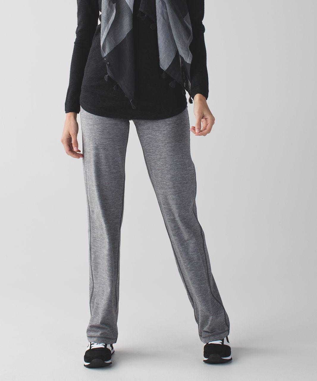 Lululemon Relaxed Fit Pant - Heathered Slate