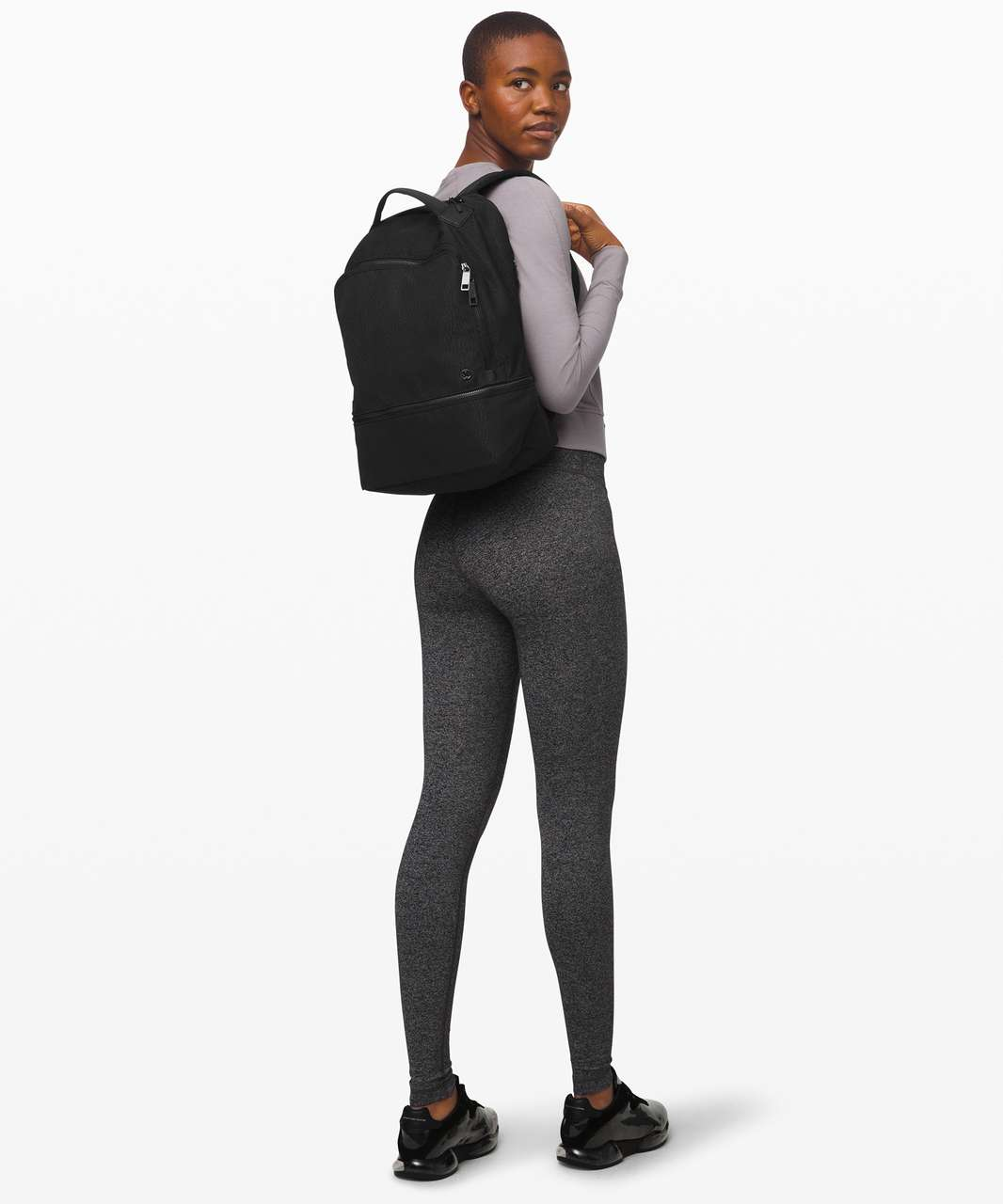 Lululemon City Adventurer Backpack *17L - Stacked Jacquard Black Midnight