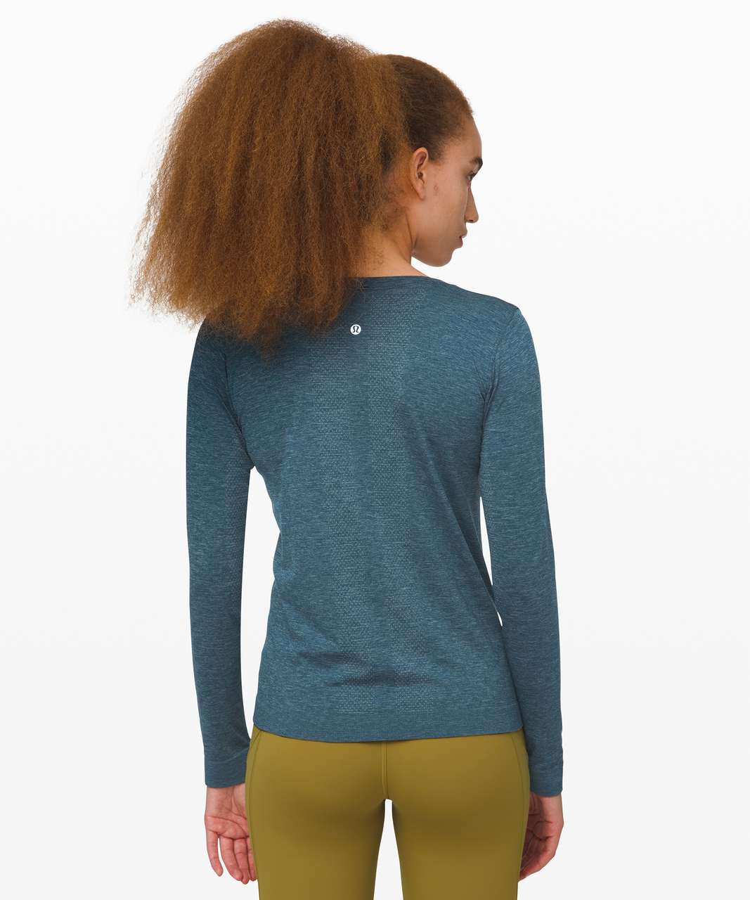 Lululemon Swiftly Relaxed Long Sleeve - Blue Charcoal / Night Diver