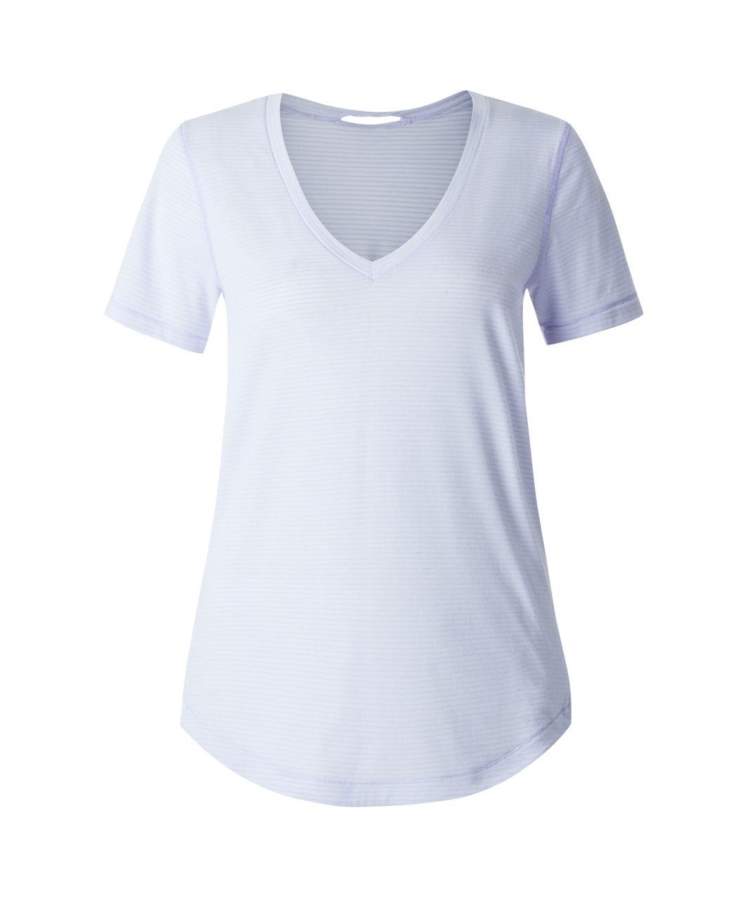 Lululemon What The Sport Tee - Heathered Chalk