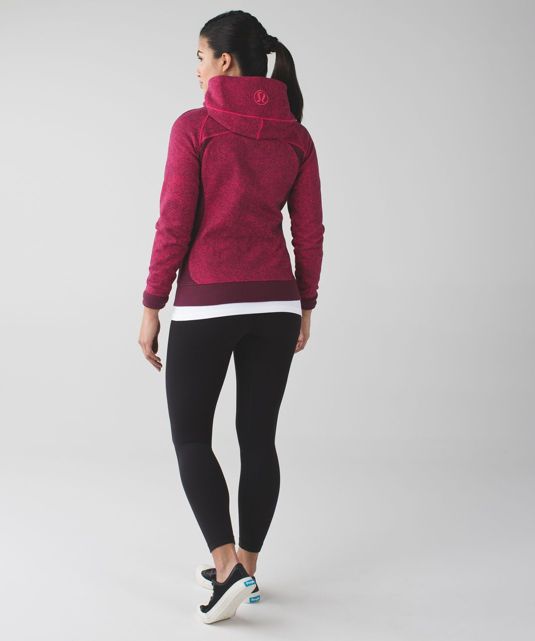 Lululemon Scuba Hoodie III - Rio Mist Boom Juice Red Grape / Red Grape