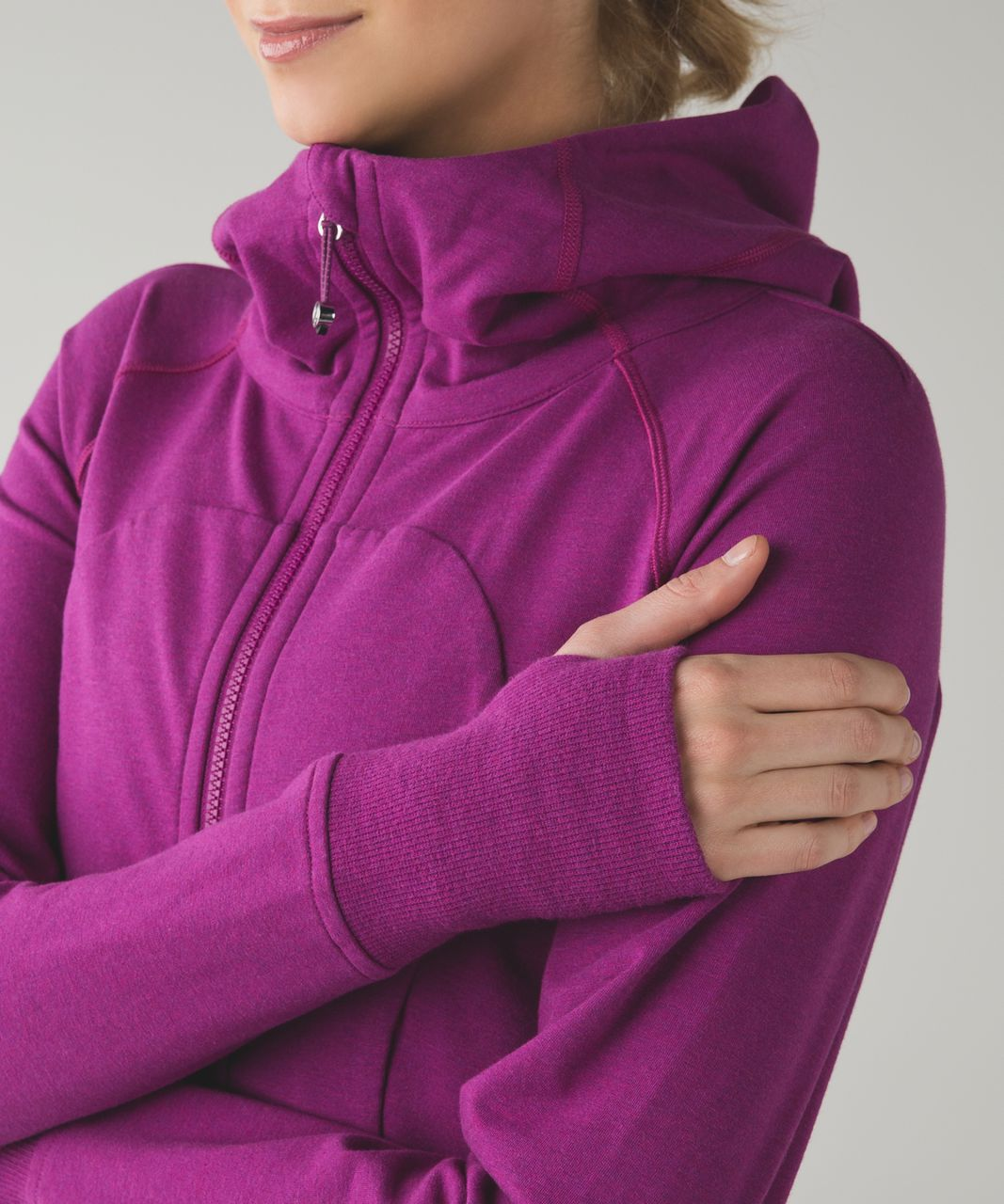 Lululemon Scuba Hoodie III (Terry) - Heathered Regal Plum
