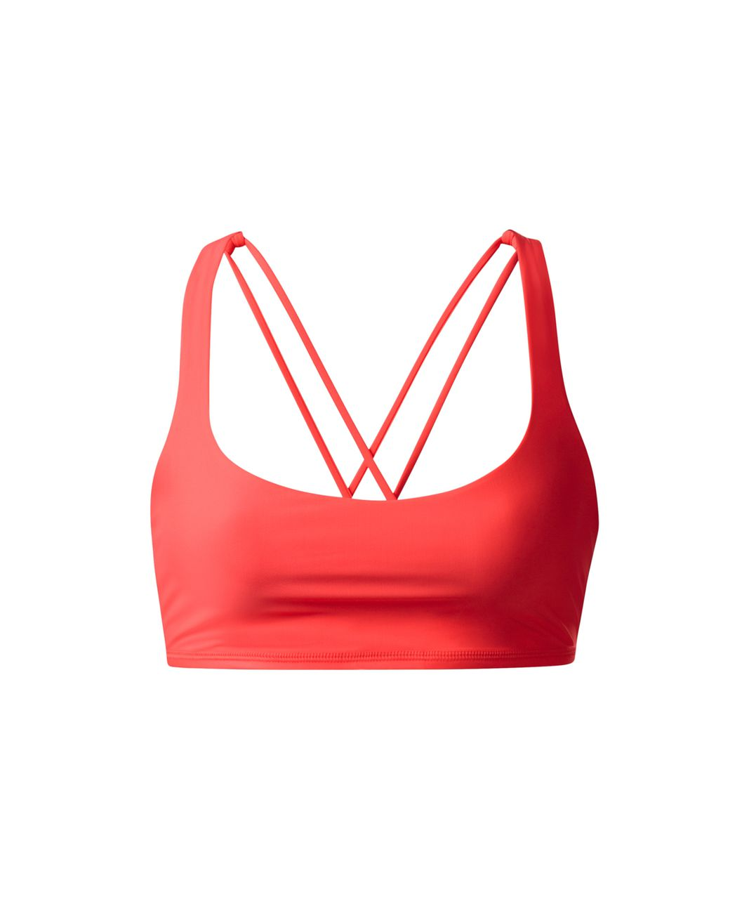 Lululemon Free To Be Bra - Cape Red