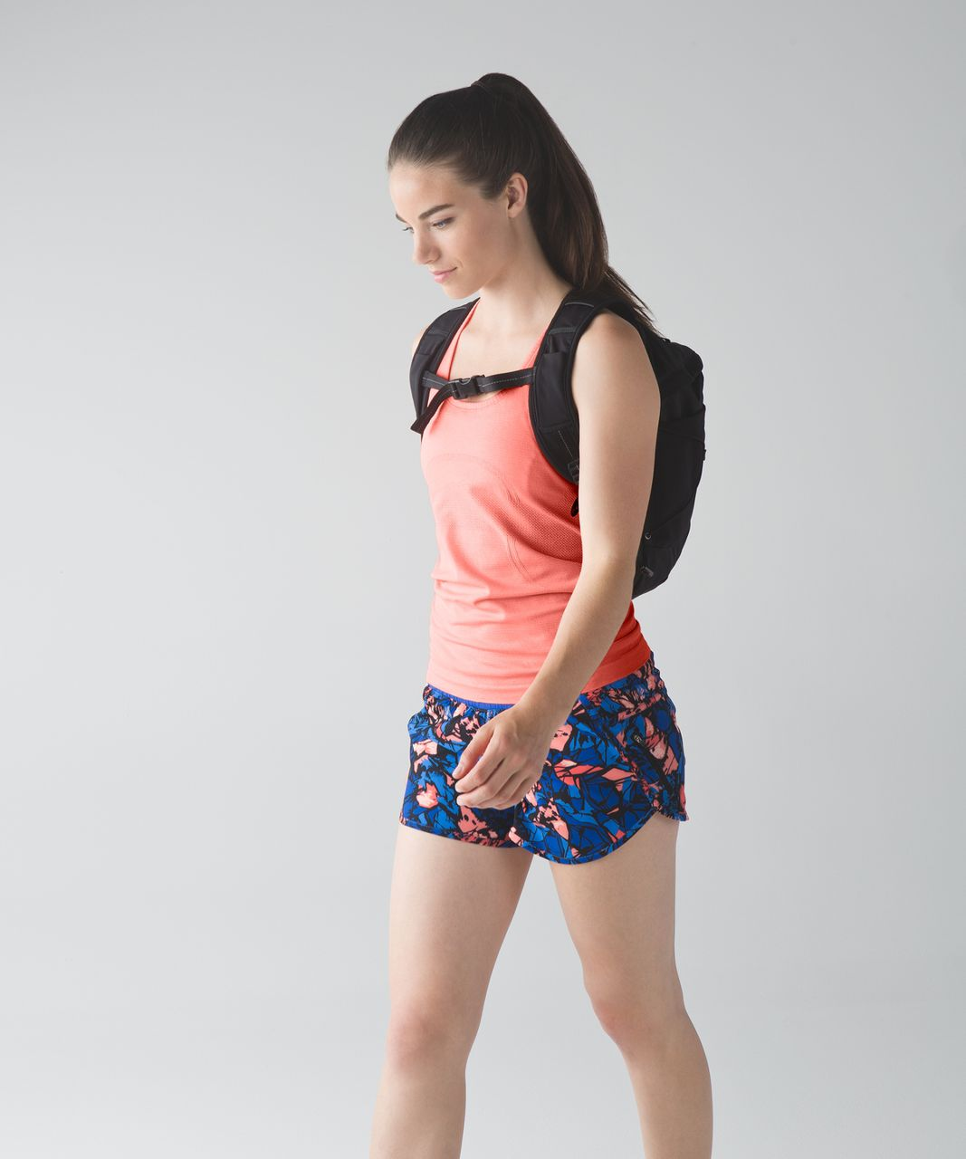 Lululemon Swiftly Tech Racerback - Heathered Grapefruit