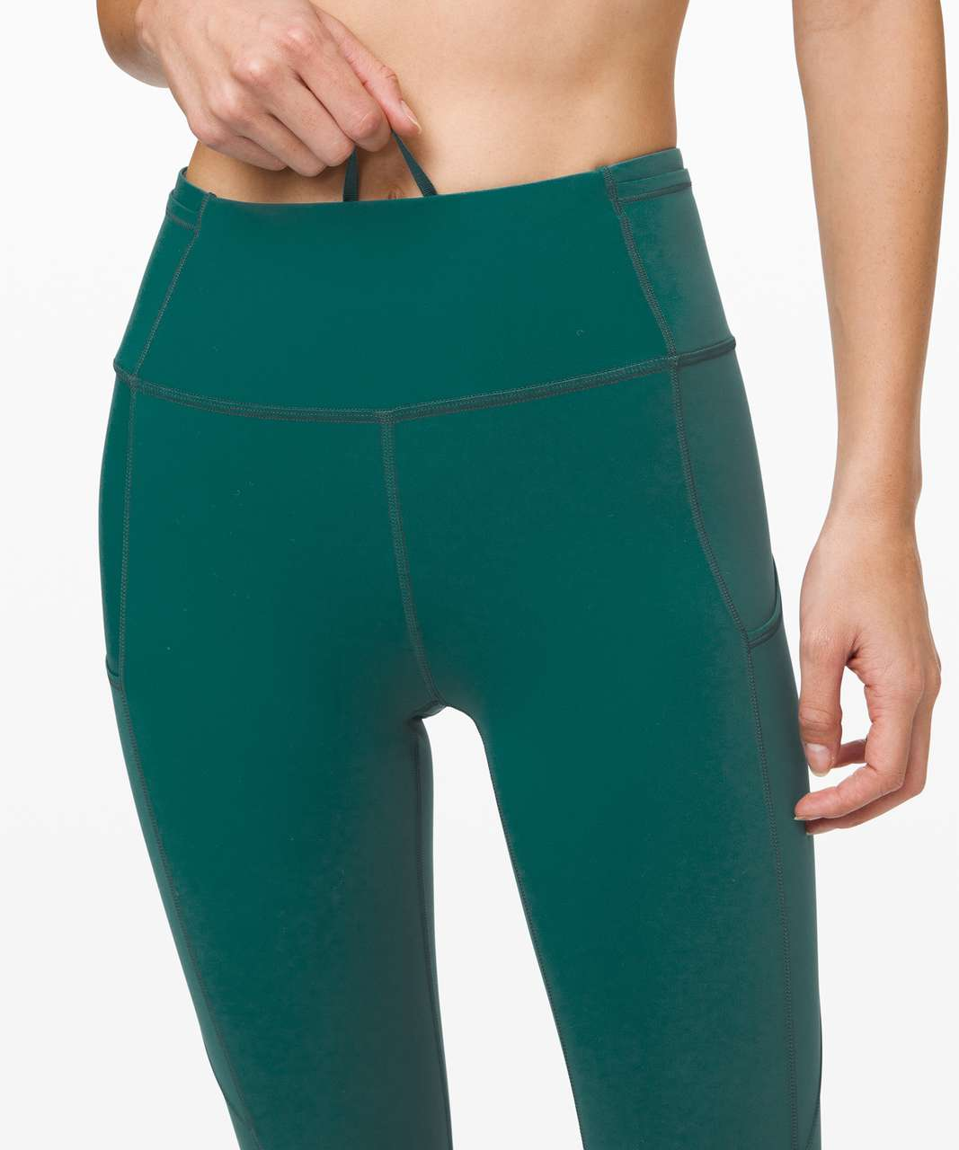 """Lululemon Fast and Free Tight II 25"""" *Non-Reflective Nulux - Laguna"""