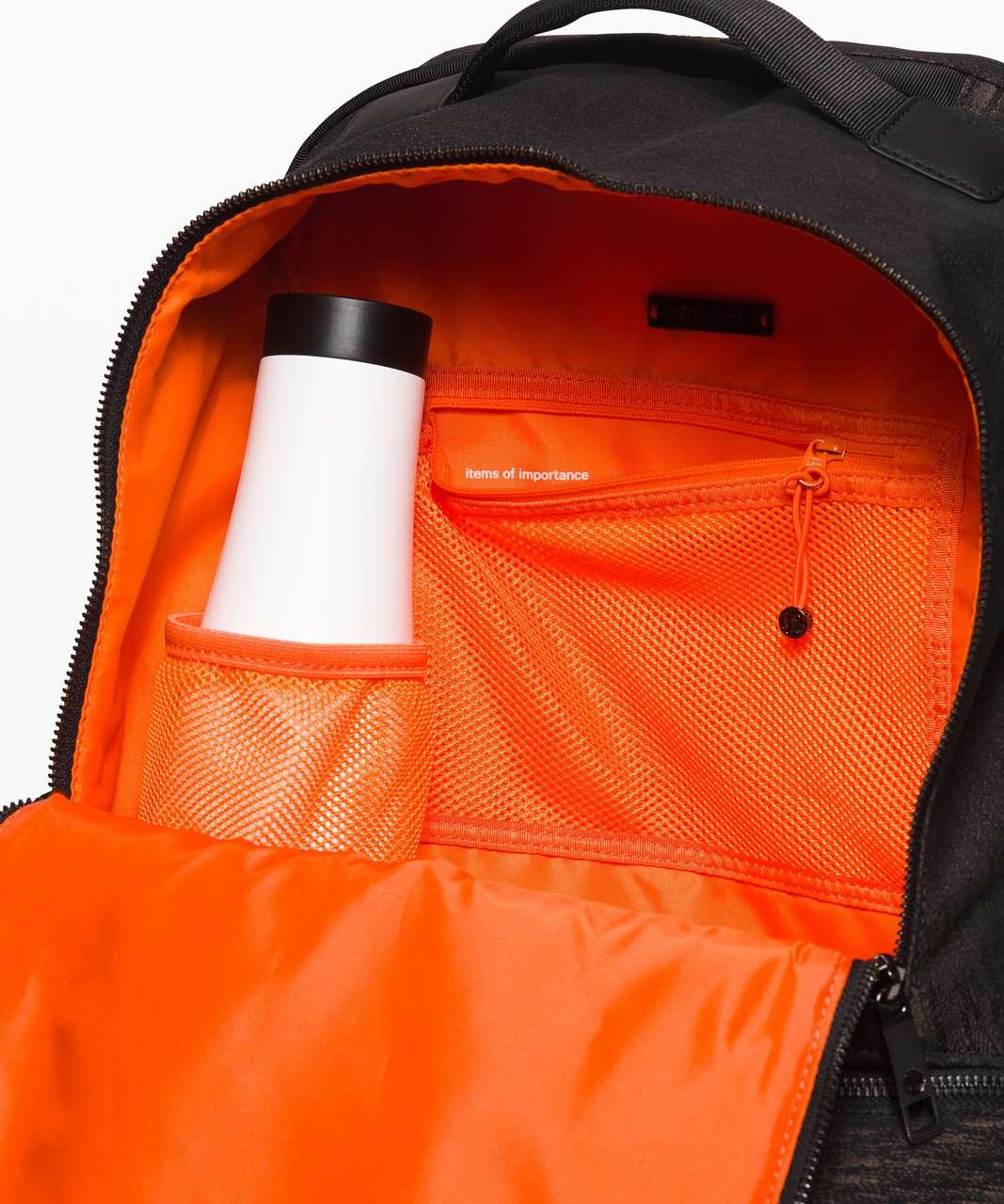 Lululemon City Adventurer Backpack *17L - Aqueous Ikat Jacquard Black Highlander