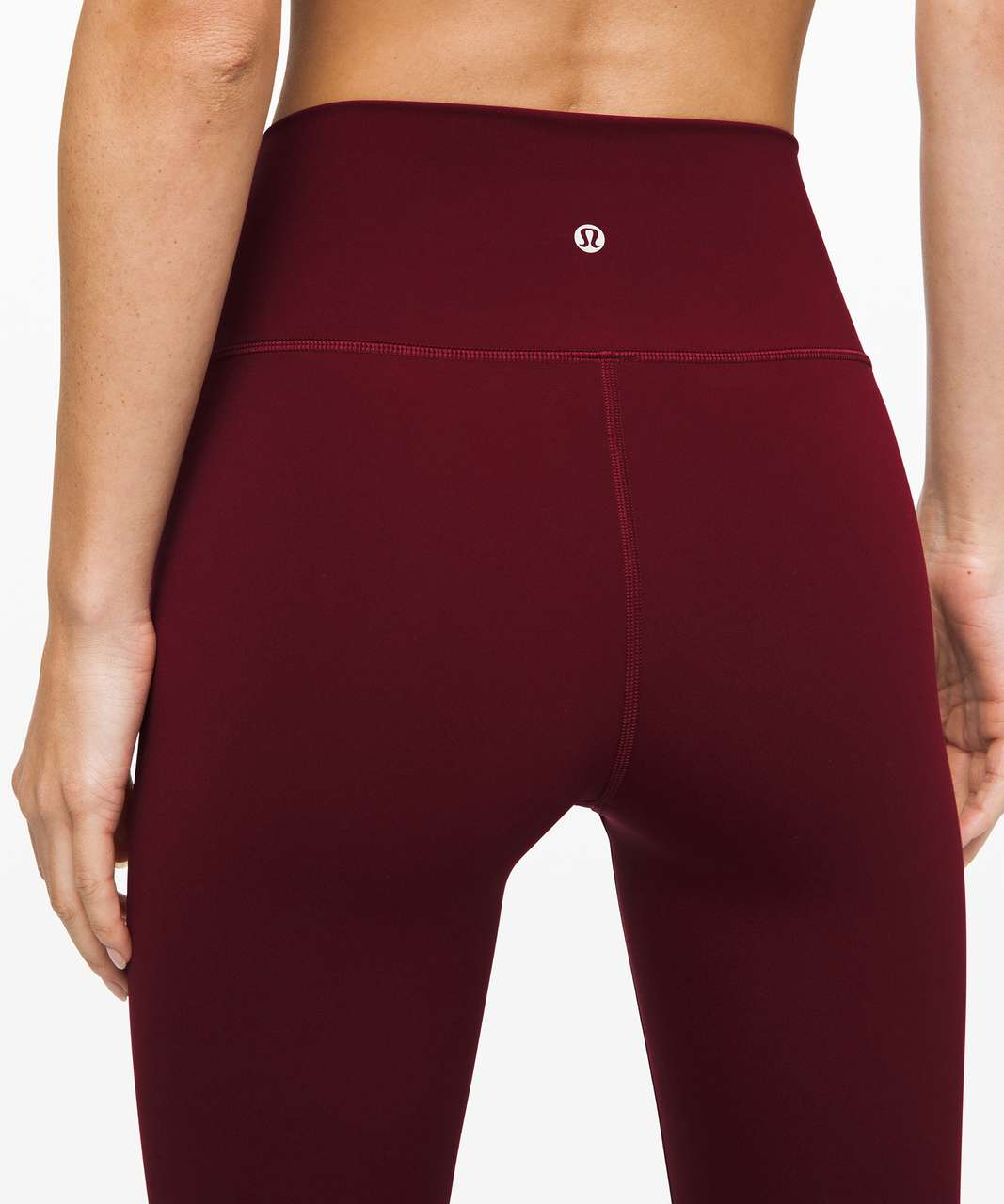 "Lululemon Wunder Under High-Rise Tight 28"" *Brushed Full-On Luxtreme - Deep Rouge"