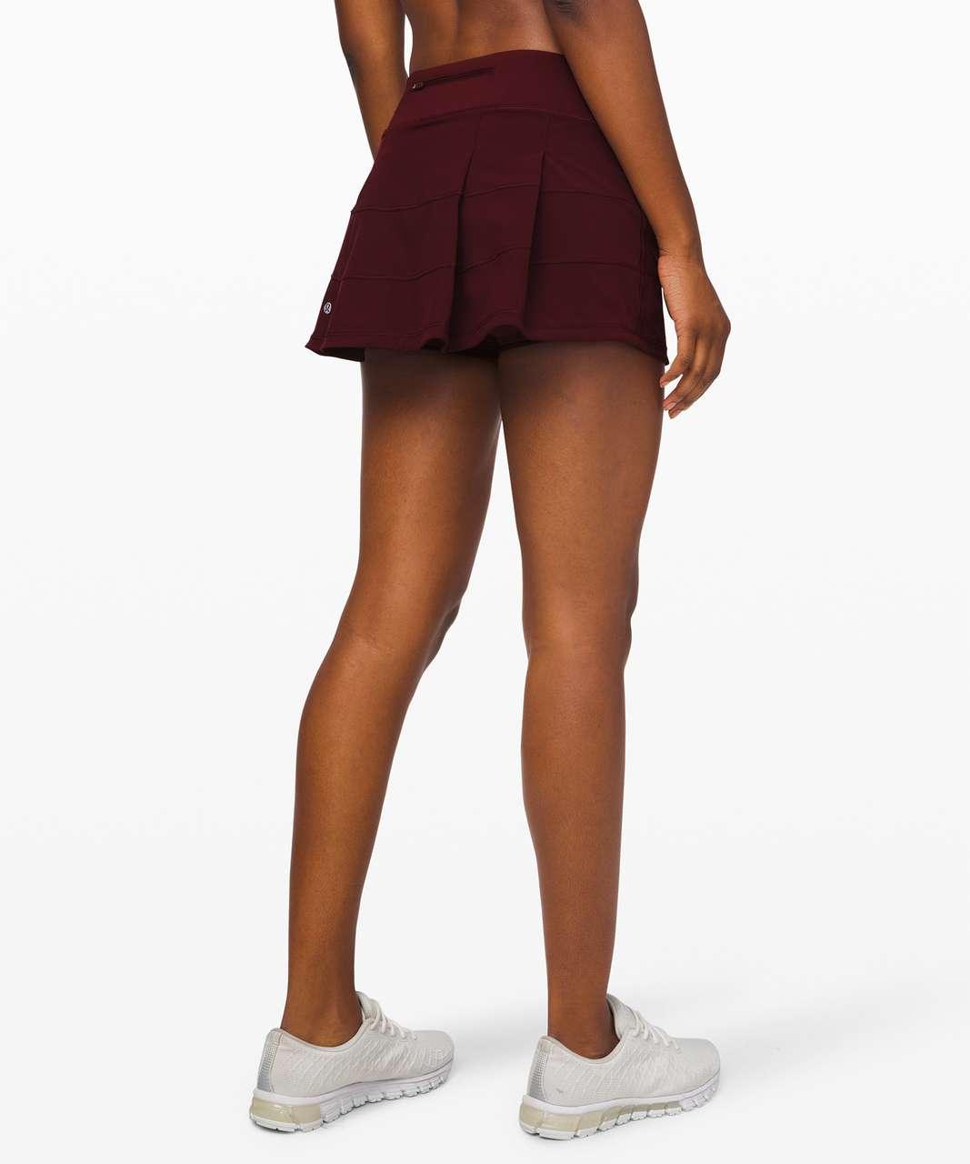 """Lululemon Pace Rival Skirt (Regular) *4-way Stretch 13"""" - Garnet"""