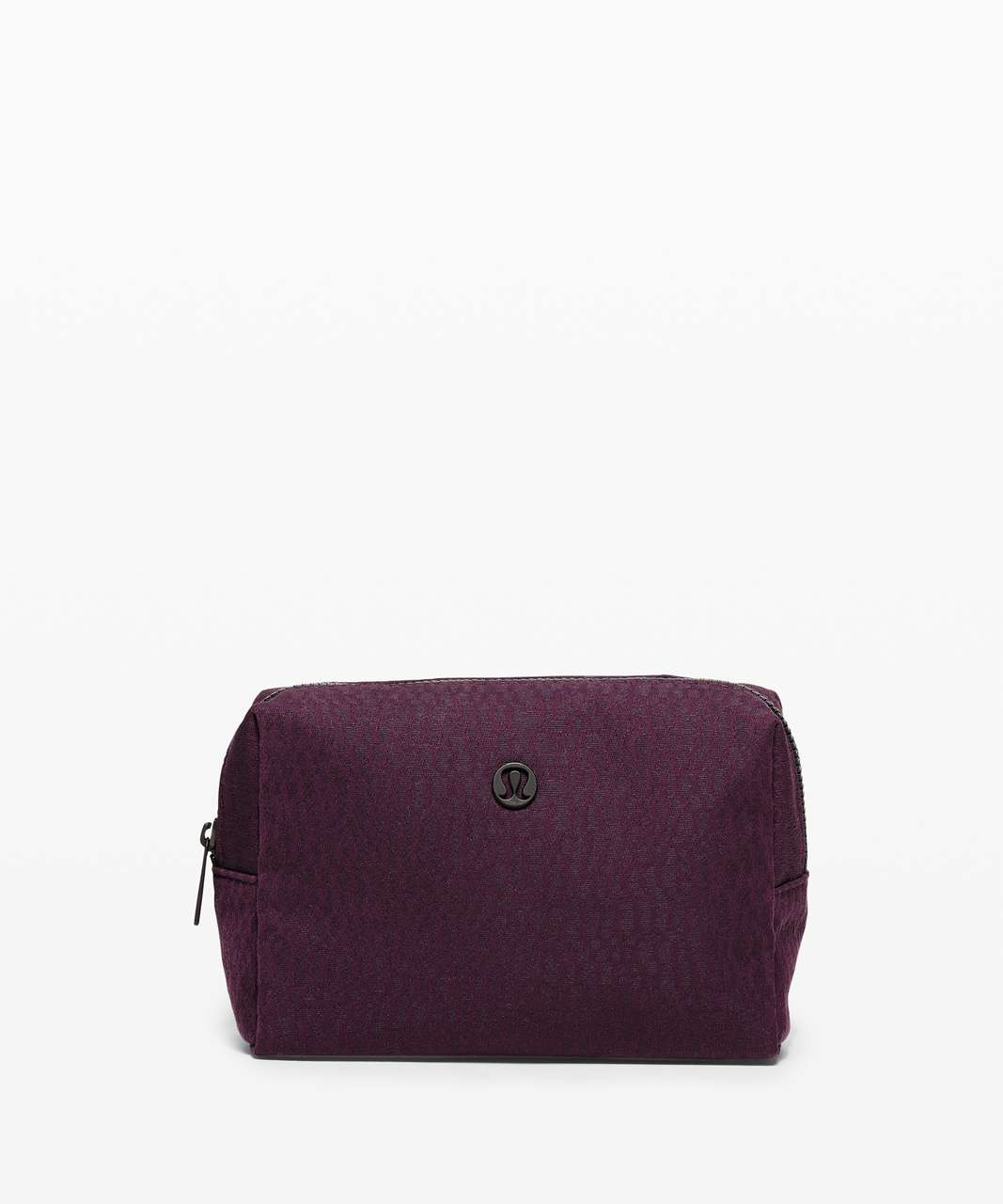 Lululemon All Your Small Things Pouch *Mini 2L - Stacked Jacquard Black Cherry Nocturnal Teal