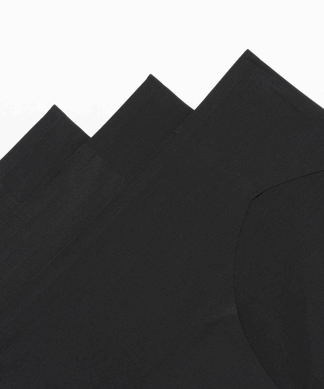 Lululemon Namastay Put Hipster 3 Pack - Black / Black / Black