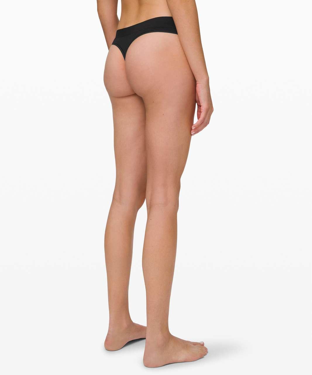 Lululemon Mula Bandhawear Thong *Lace - Black