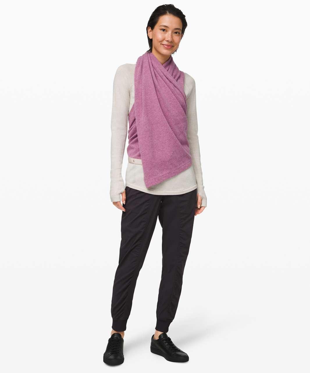 Lululemon Vinyasa Scarf *Cashmere - Pink Taupe