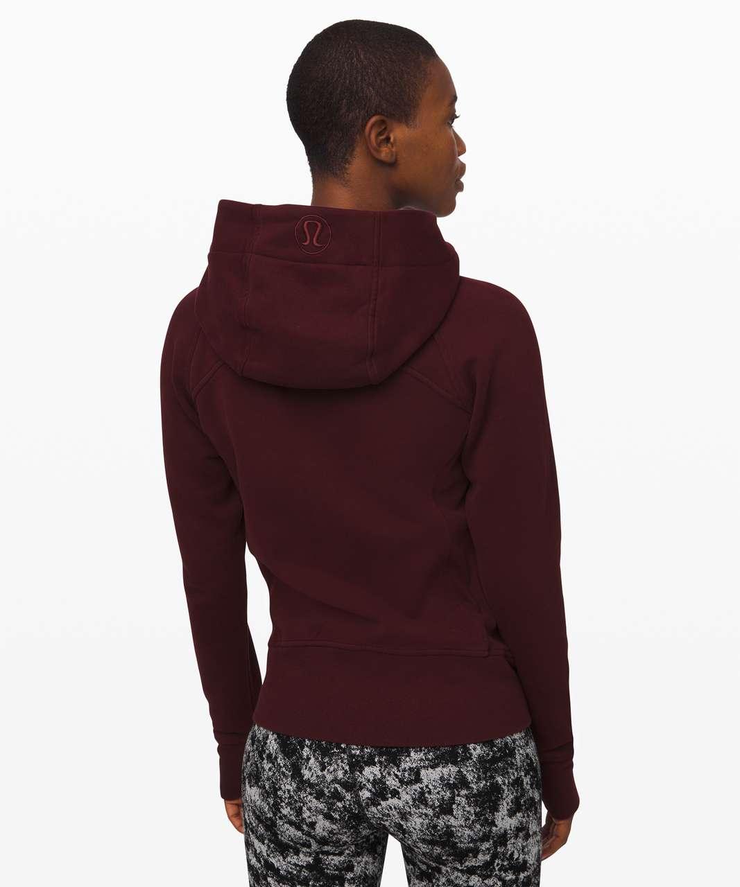 Lululemon Scuba Hoodie *Light Cotton Fleece - Garnet