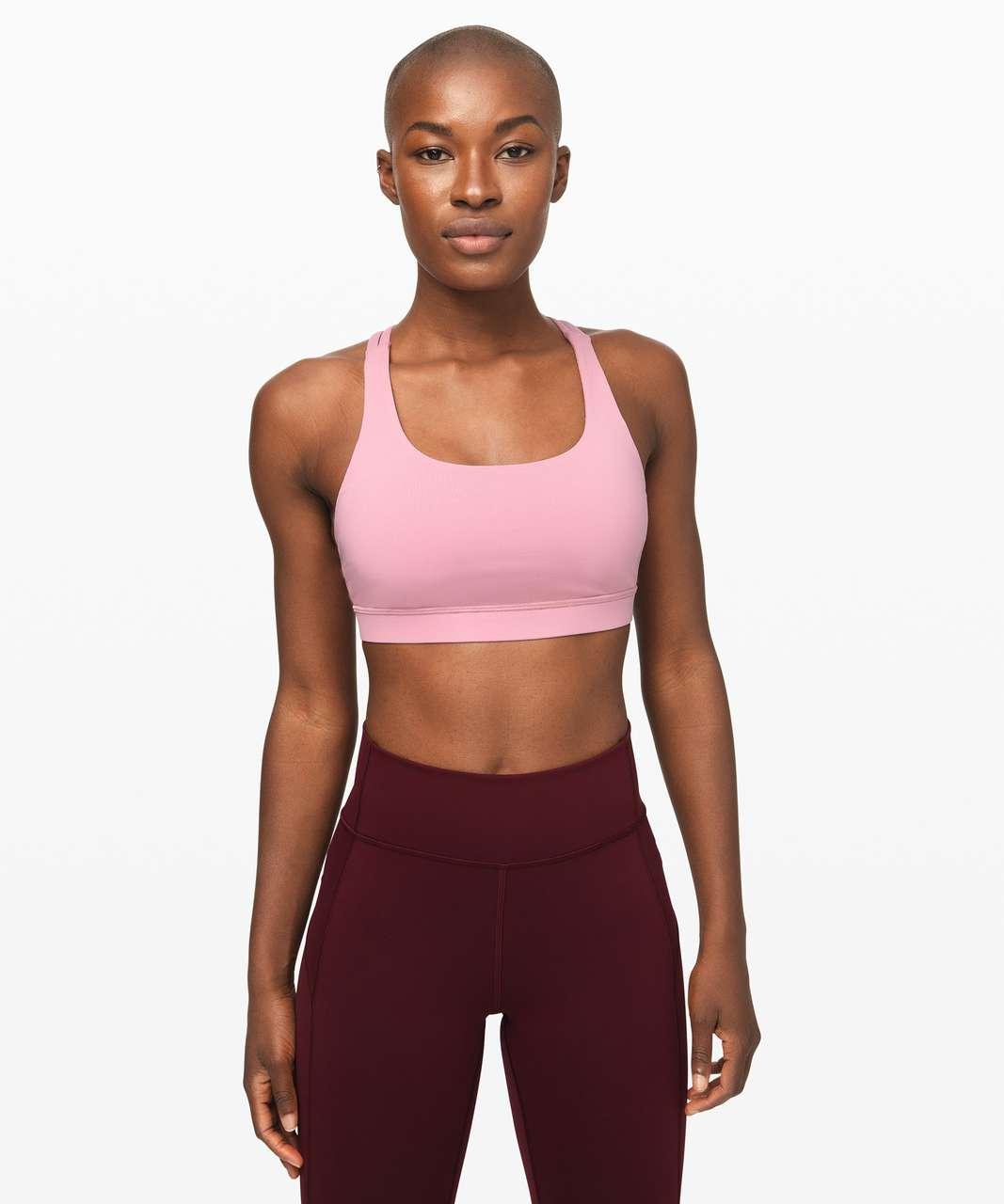 Lululemon Energy Bra - Pink Taupe