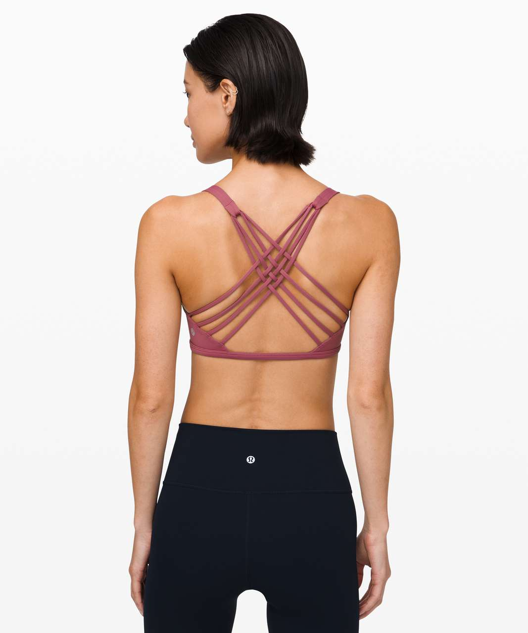 Lululemon Free To Be Bra (Wild) - Moss Rose