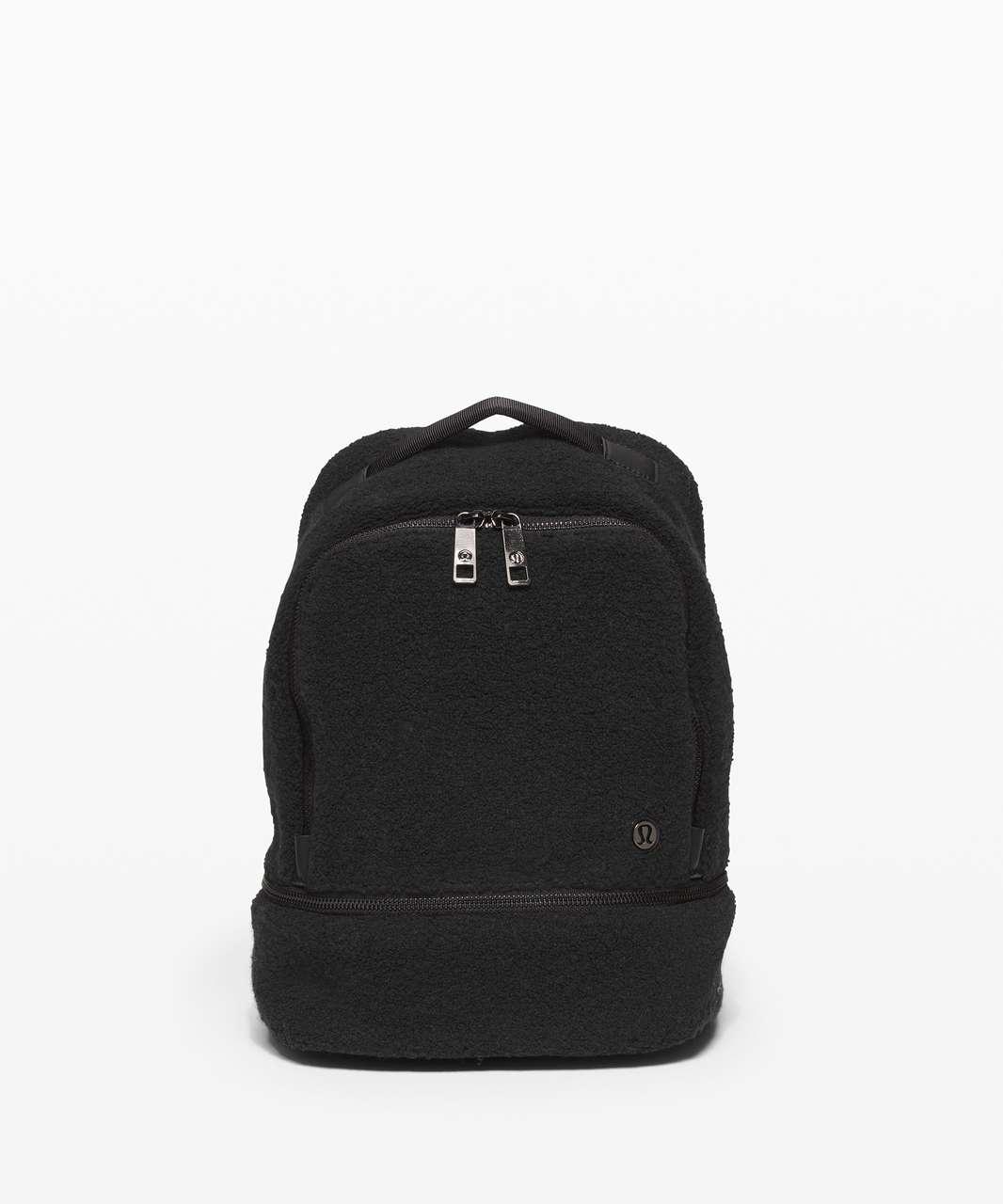 Lululemon City Adventurer Backpack Mini *Sherpa Fleece 10L - Black