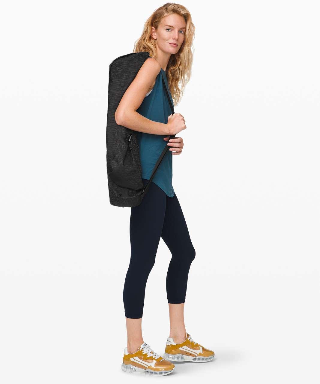 Lululemon The Yoga Mat Bag *16L - Aqueous Ikat Jacquard Black Highlander