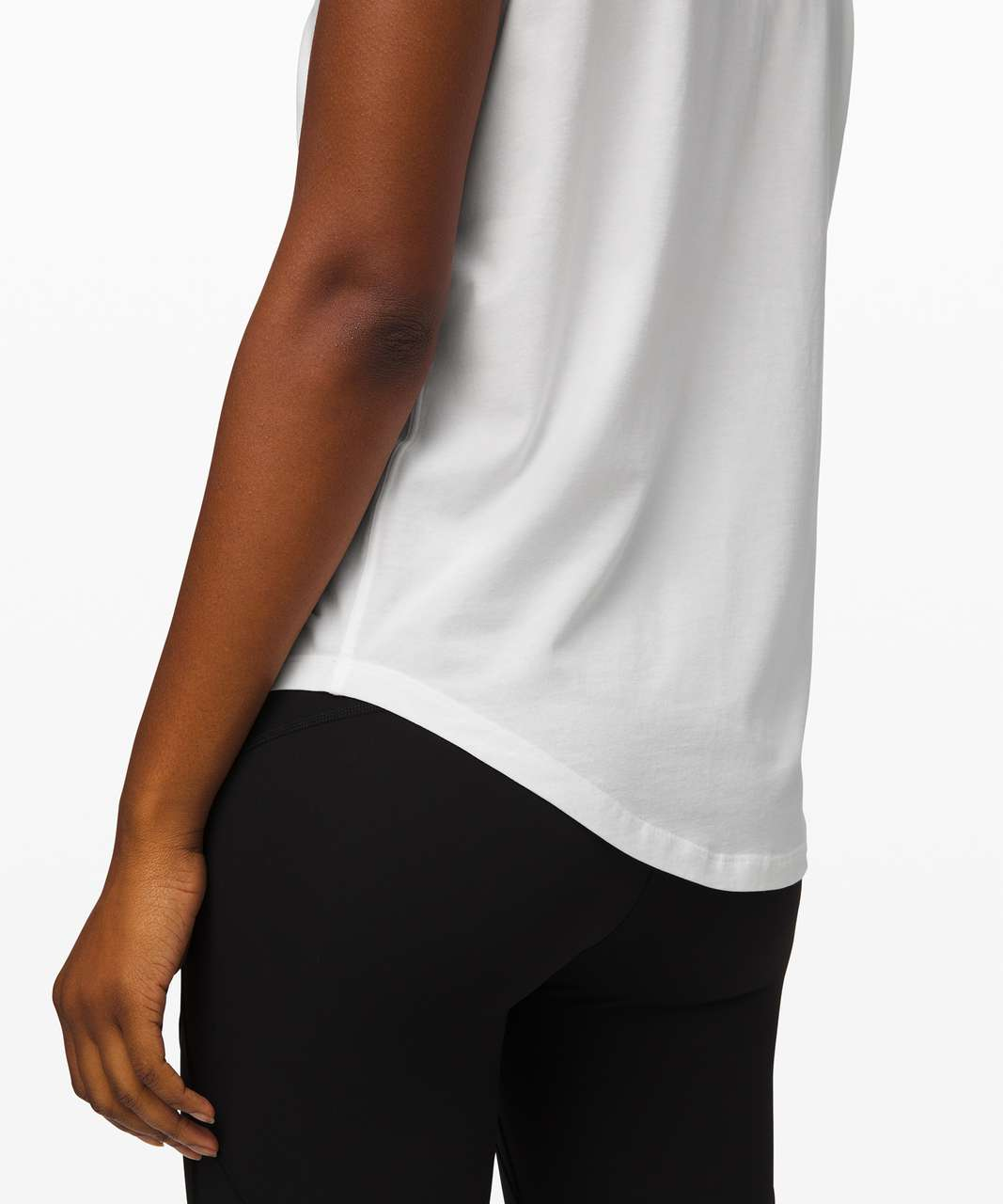 Lululemon Brunswick Muscle Tank *Expression - White