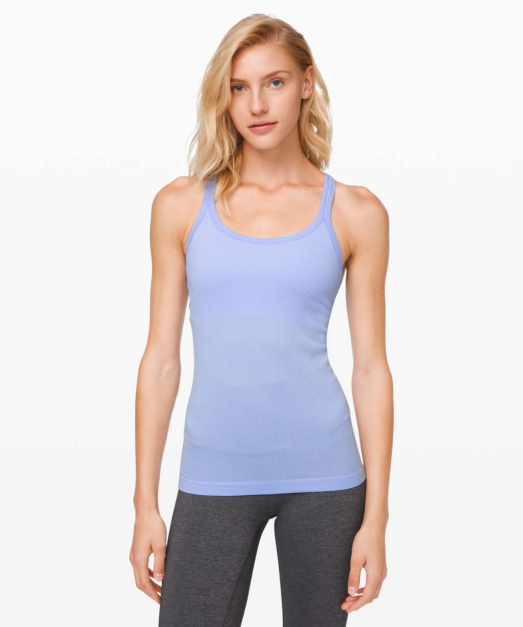 Lululemon Ebb To Street Tank *Light Support For B/C Cup - Lavender Dusk