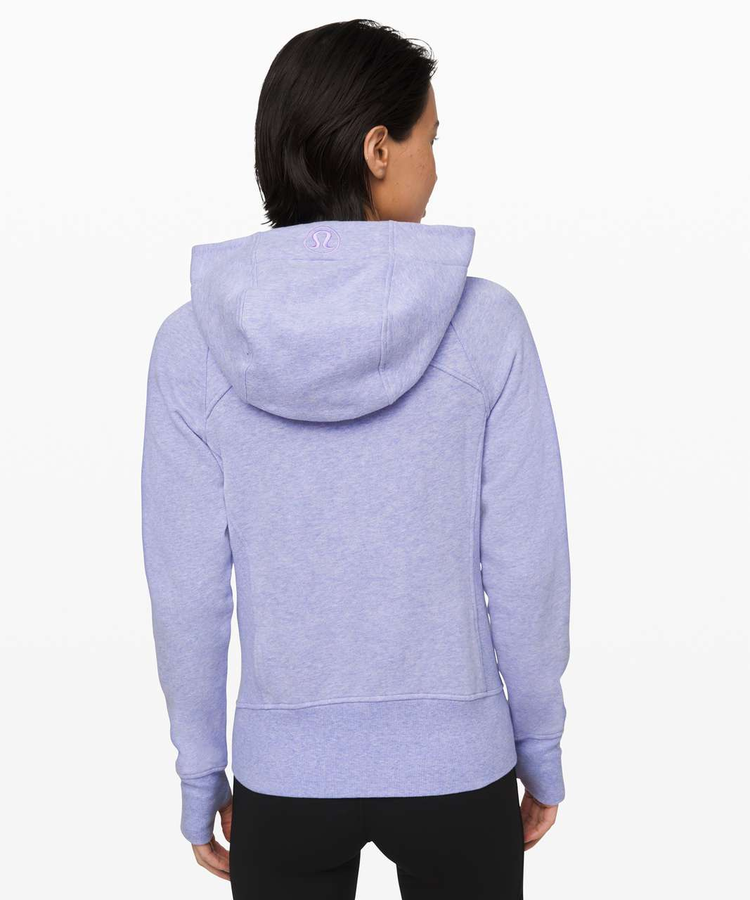 Lululemon Scuba Hoodie *Light Cotton Fleece - Heathered Lavender Dusk