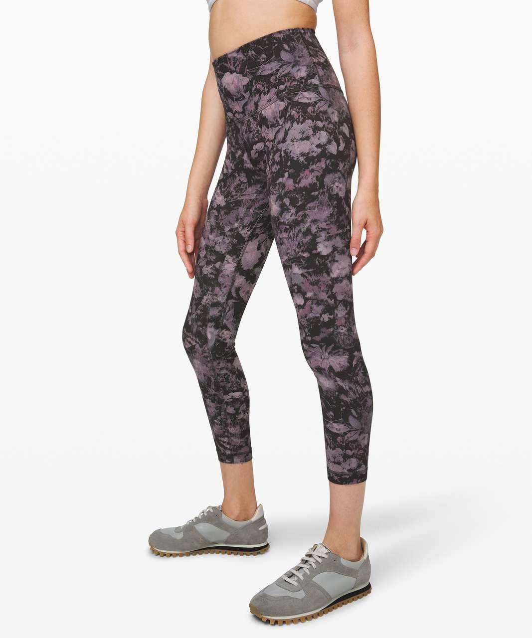 """Lululemon Align Pant II 25"""" - Floral Illusion Ice Grey Multi"""