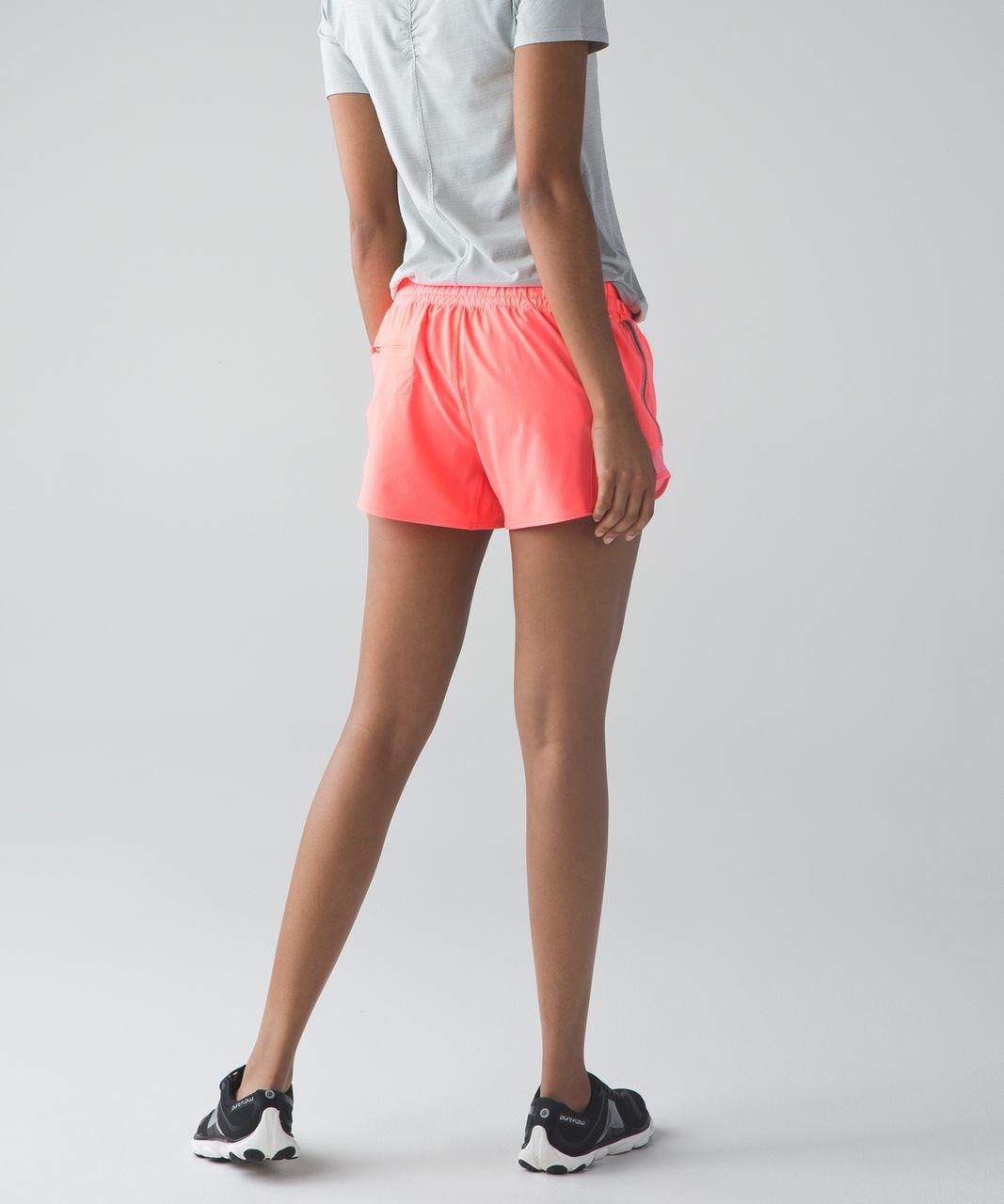 Lululemon Hotty Hot Short (Long) - Grapefruit