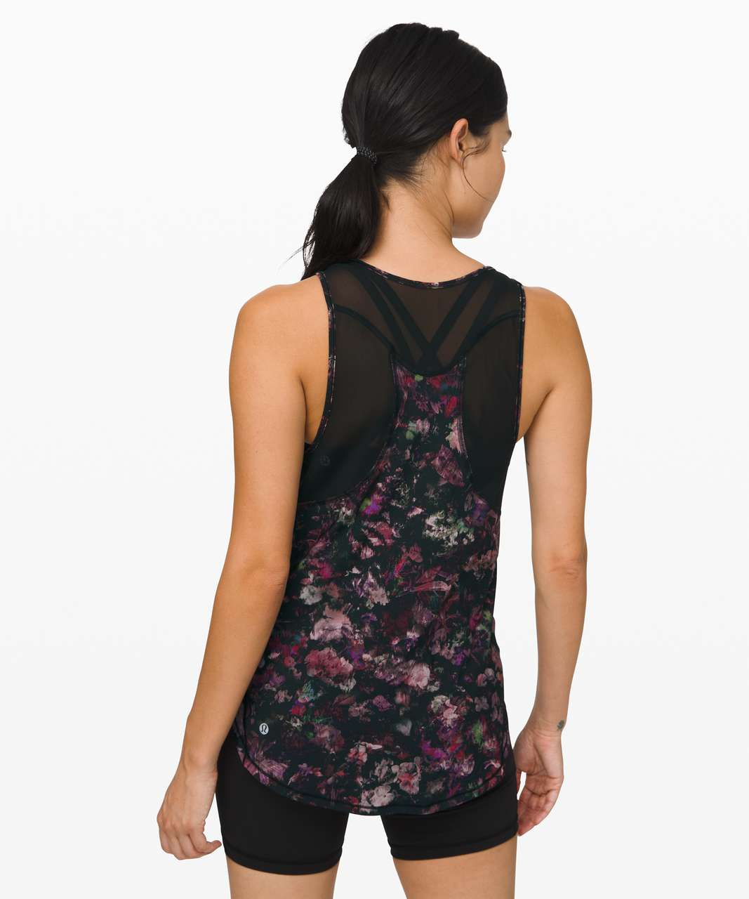 Lululemon Sculpt Tank II - Floral Illusion Antique White Multi