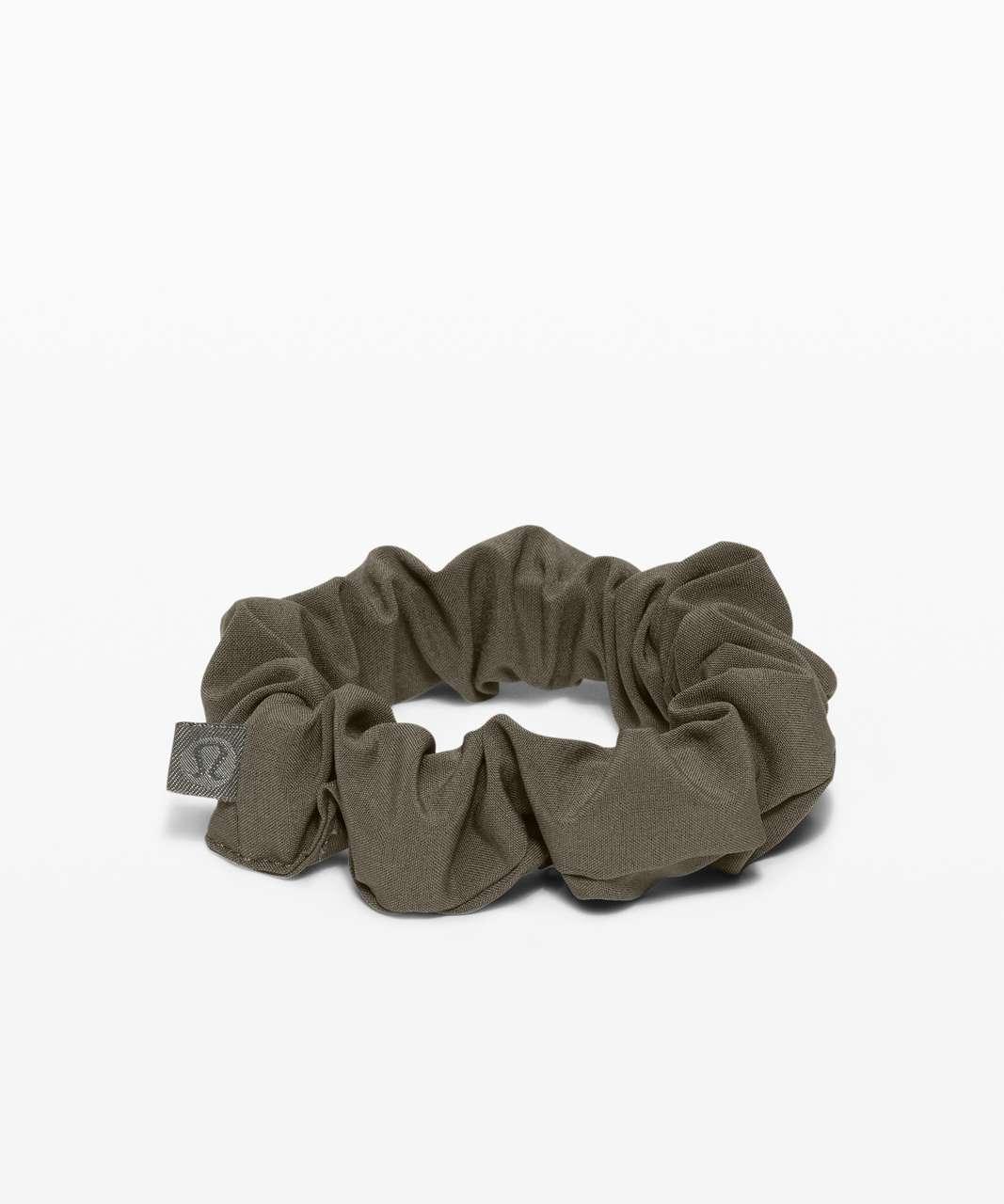 Lululemon Uplifting Scrunchie - Grey Sage