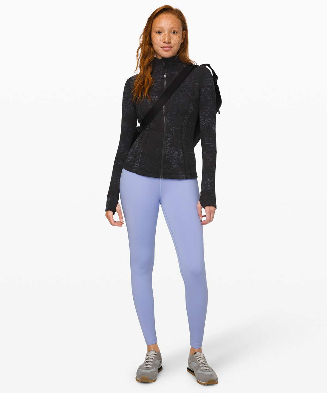 Lululemon Define Jacket *Luxtreme - Untamed Jacquard Spray Dye Black Deep Coal
